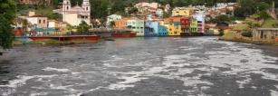 Mancha de poluição no Rio Tietê atinge 130 km, recuo de apenas 7 Km em relação ao ano anterior