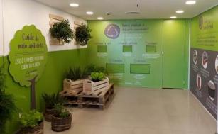 Espaço Sustentável em shopping de Botafogo