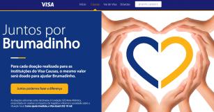 Visa apoia a região de Brumadinho