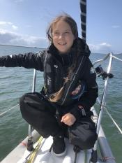 Greta Thunberg zarpa para as Américas a bordo do barco de corrida de emissão zero Malizia II