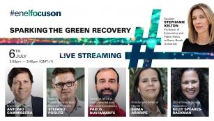 Webinar #EnelFocusOn abordará a recuperação verde, com a participação especial da Economista norte-americana Stephanie Kelton