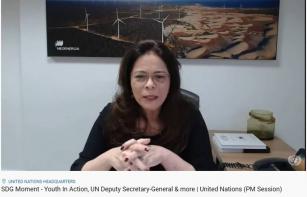 Solange Ribeiro participa de evento da ONU e reforça a importância dos jovens