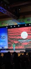 """""""Só teremos bioeconomia de fato se houver a demarcação de terras"""", diz Puyr Timbé, no Fórum Mundial de Bioeconomia"""
