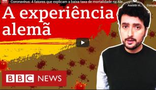 BBC News Brasil - Coronavírus: quatro fatores que explicam a baixa taxa de mortalidade na Alemanha