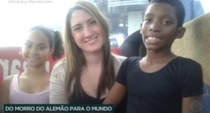 Projeto VIDANÇAR, do Complexo do Alemão (RJ), é destaque na RECORD TV.