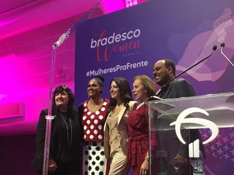 Bradesco reúne 2 mil mulheres em evento inspirador