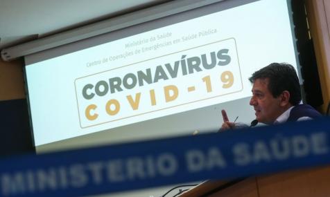 ESPECIAL CORONAVÍRUS - Ministro da Saúde: Bradesco, Itaú e Santander estão ajudando no combate à pandemia encomendando kits para testes e equipamentos