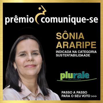 Jornalista Sônia Araripe, Editora de Plurale é indicada para o Prêmio Comunique-se 2021