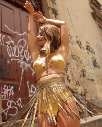 Ensaio de Carnaval - Nova Coleção da grife carioca Pop!Shop com Aninha Bonilha - Fotos de Fagner Soares - Divulgação/ Pop!Shop.