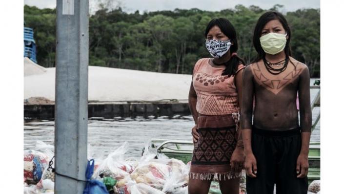 Entregas para as Comunidades Indígenas Gavião e Inhambé (1°fase) - Fotos da campanha SOS Amazônia