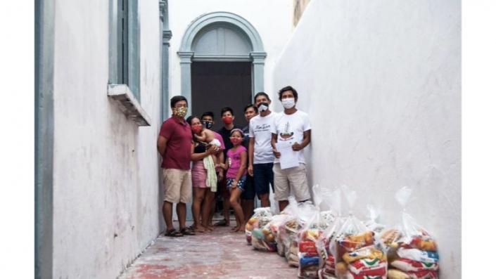 Entregas para o Centro de Medicina Indígena (1° fase) - Fotos da campanha SOS Amazônia