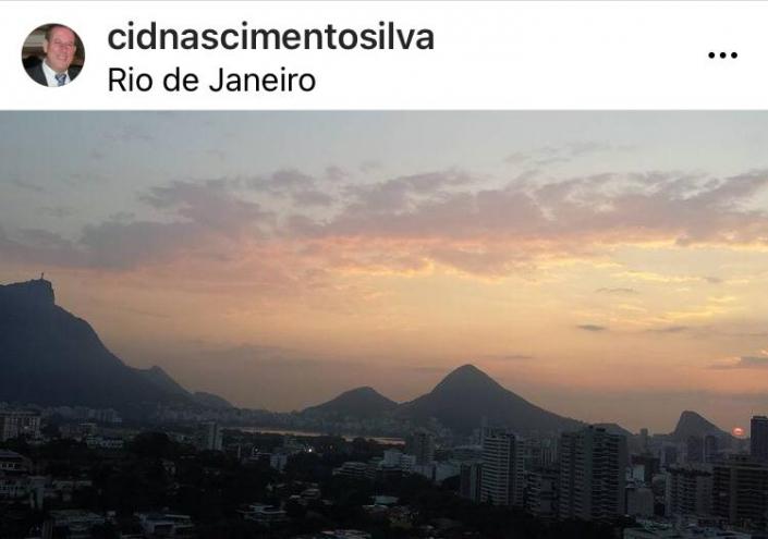 Ensaio Plurale - #rio456anos - Foto do Alto Leblon do fotógrafo amador Cid do Nascimento Silva.