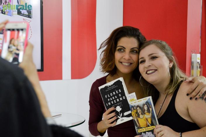 A escritora Thalita Rebouças é destaque em vendas/ Na Bienal de Livros do Rio 2019 - FOTO DE RAFAELA CASSIANO - PLURALE