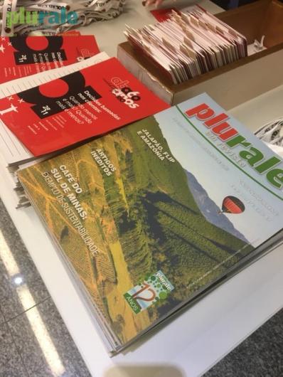 Revista Plurale foi compartilhada no evento ABA in Rio, realizado no dia 28 de novembro de 2019.