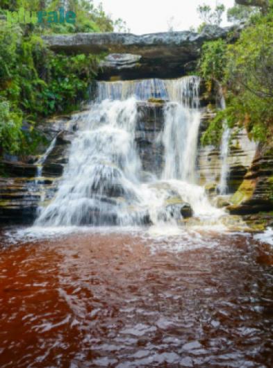 Cachoeira - Parque Estadual Ibitipoca - Foto de LUCIANA TANCREDO/ PLURALE - Edição 69 (reprodução proibida).